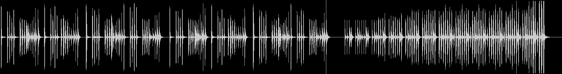 なぞなぞ・いたずらな木管楽器BGMの未再生の波形