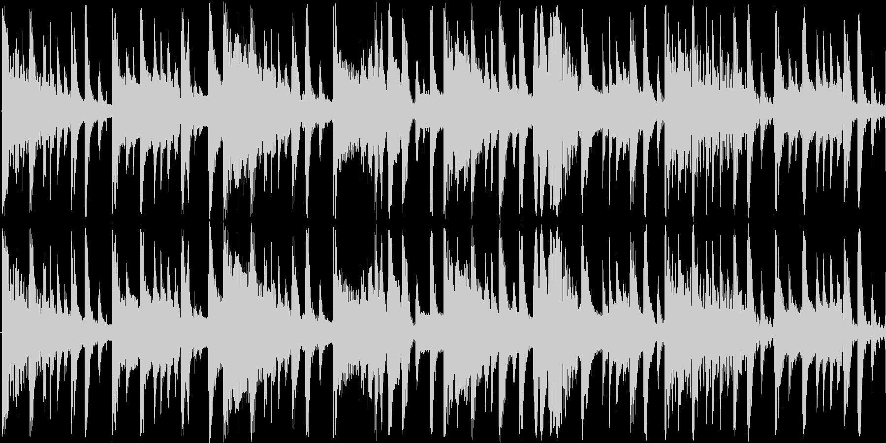 非常に短い曲ですの未再生の波形