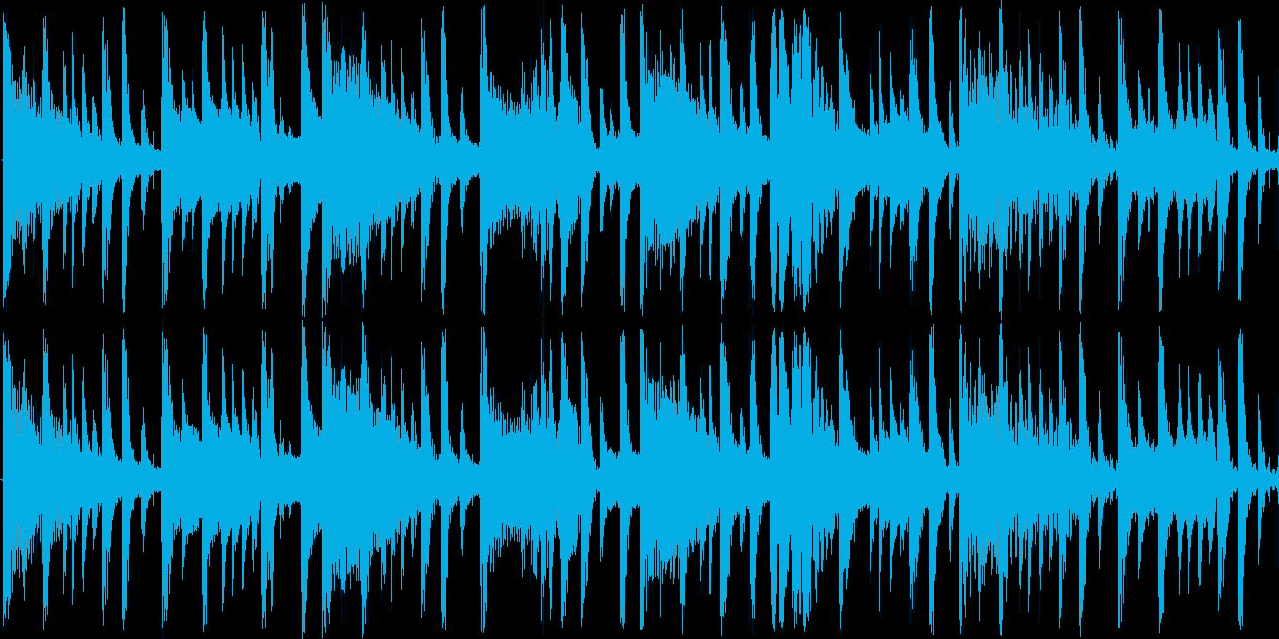 非常に短い曲ですの再生済みの波形