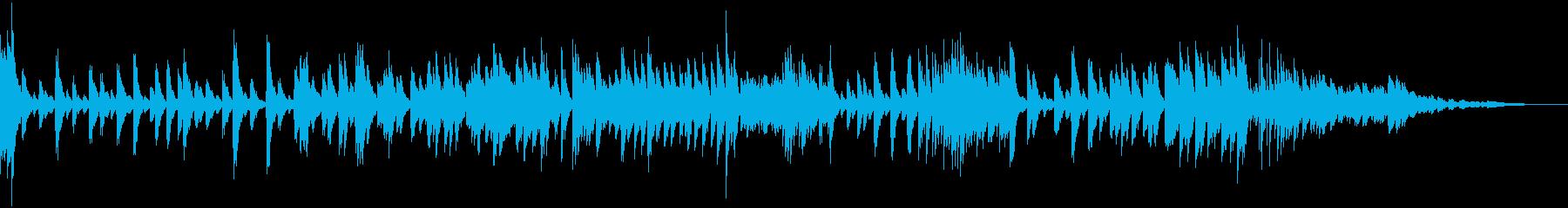 トゲトゲ攻撃的、好戦的なピアノ曲の再生済みの波形