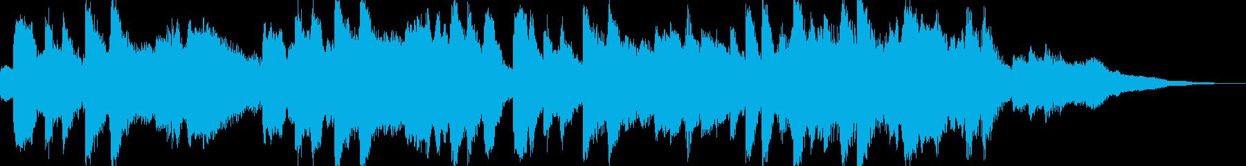 広がりのあるストリングスとピアノ 匠 の再生済みの波形