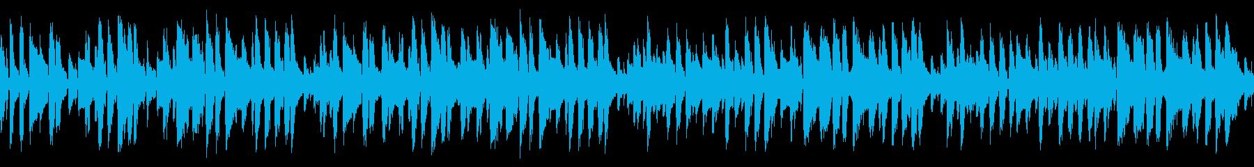 有名な誕生日の歌をお洒落ジャズに(ループの再生済みの波形
