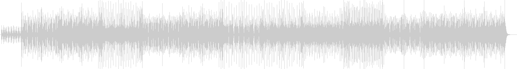 明るいポップ・フュージョン感あるサウンドの未再生の波形