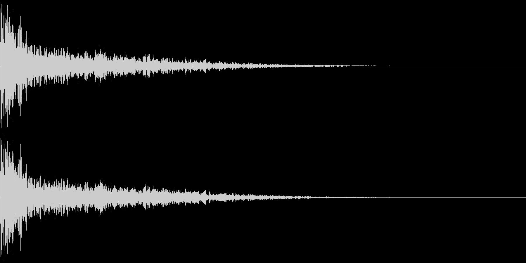 鐘 11の未再生の波形