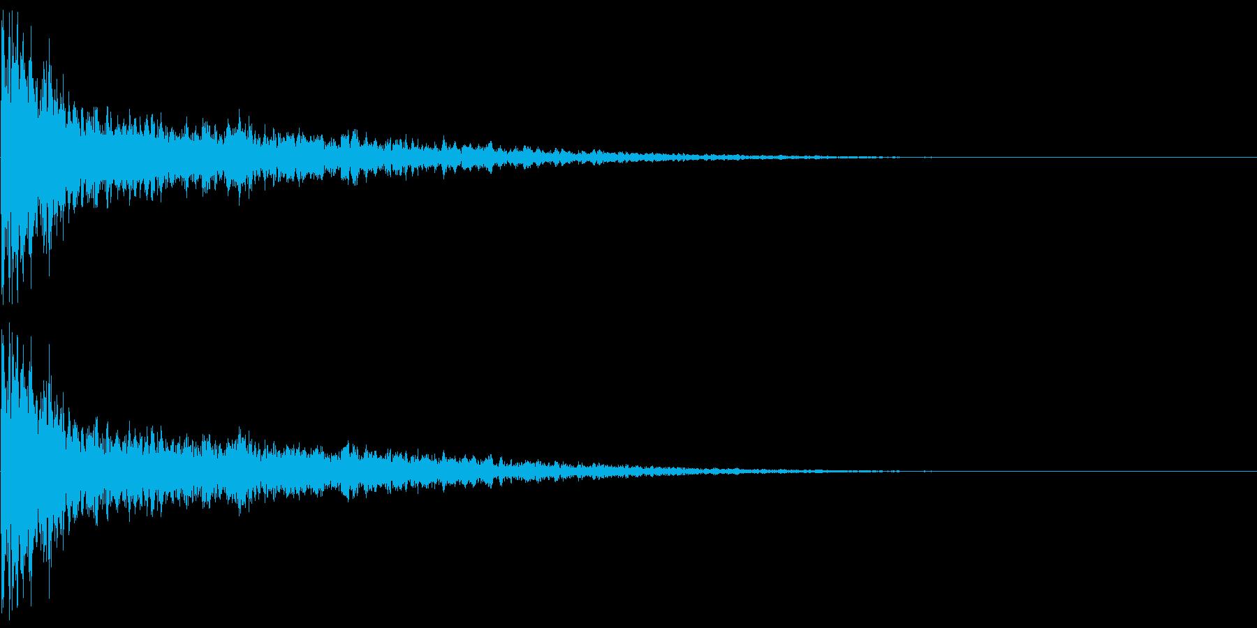 鐘 11の再生済みの波形