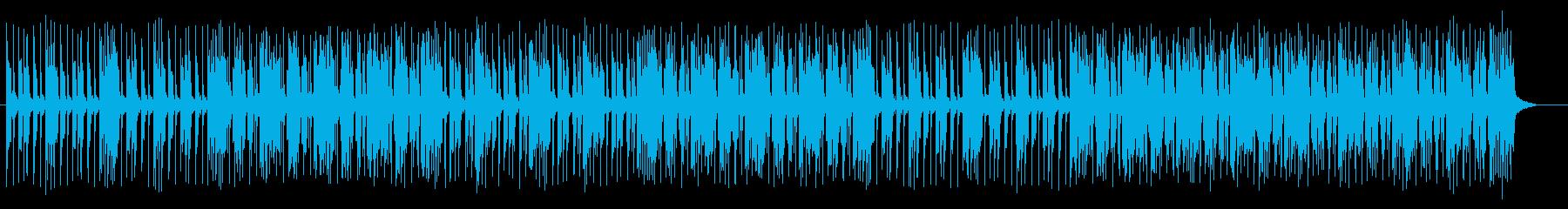 陽気なオルガンのジャズポップの再生済みの波形