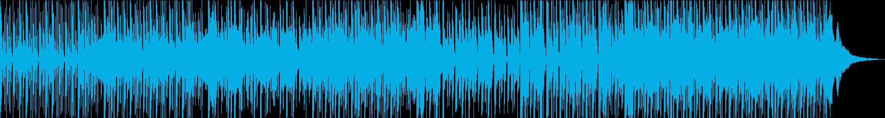 しっとりとした気持ちになるラテン風レゲエの再生済みの波形