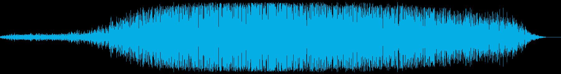 グオオオ(爆弾後の音)の再生済みの波形
