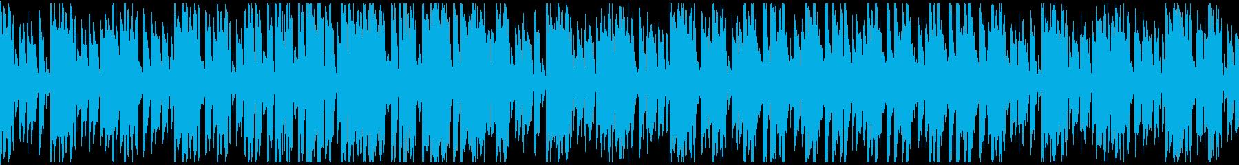 アラブ楽器を使ったエキゾチックな曲の再生済みの波形