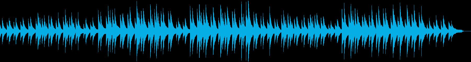 サティ ジムノペディ 第2番 ピアノの再生済みの波形