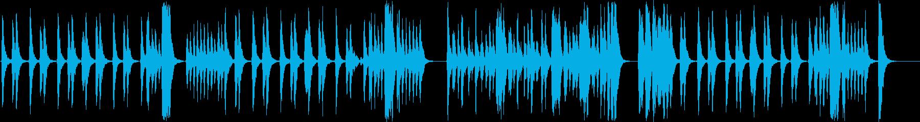 厳か 怪しい 不安 推理 ストリングスの再生済みの波形