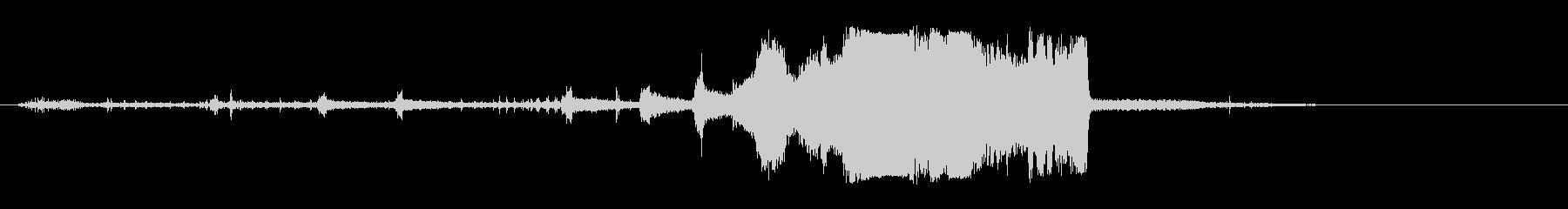 オートバイモトクロス;回転/アウェ...の未再生の波形