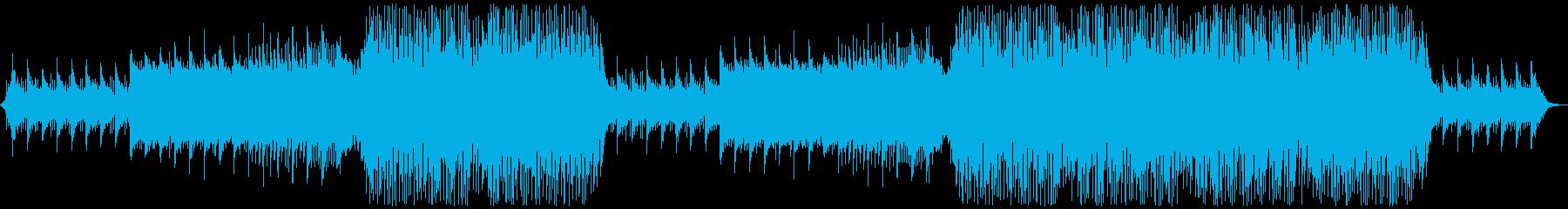 しっとり力強いアミューズメントなEDMの再生済みの波形