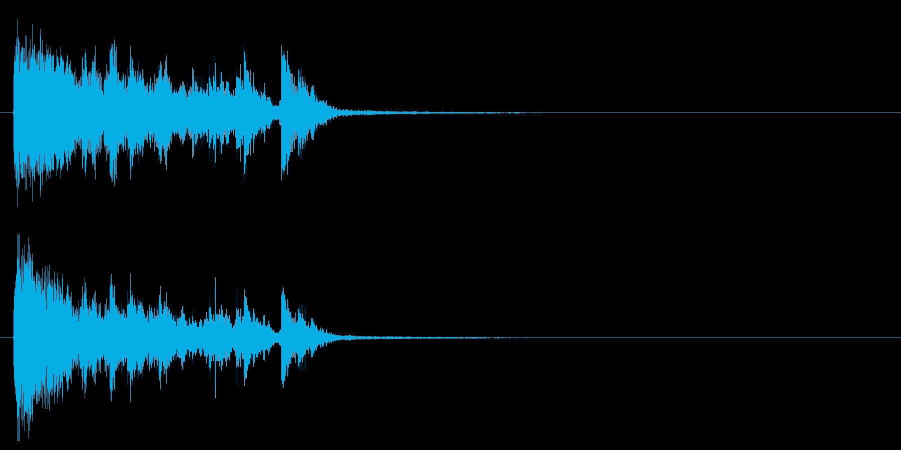 電球の破裂-06の再生済みの波形