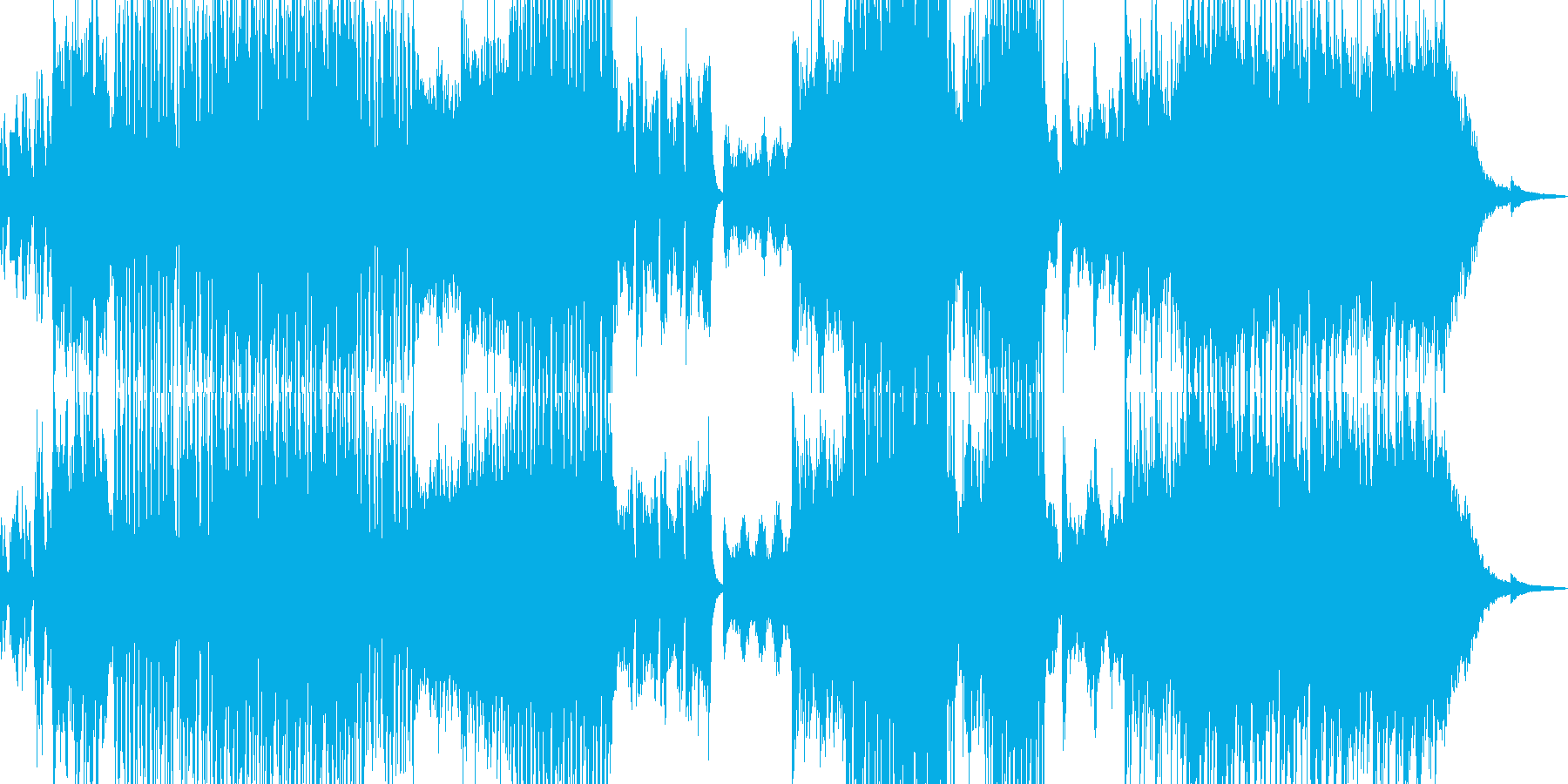 闇→光・恐怖やパニックがテーマの作品にの再生済みの波形