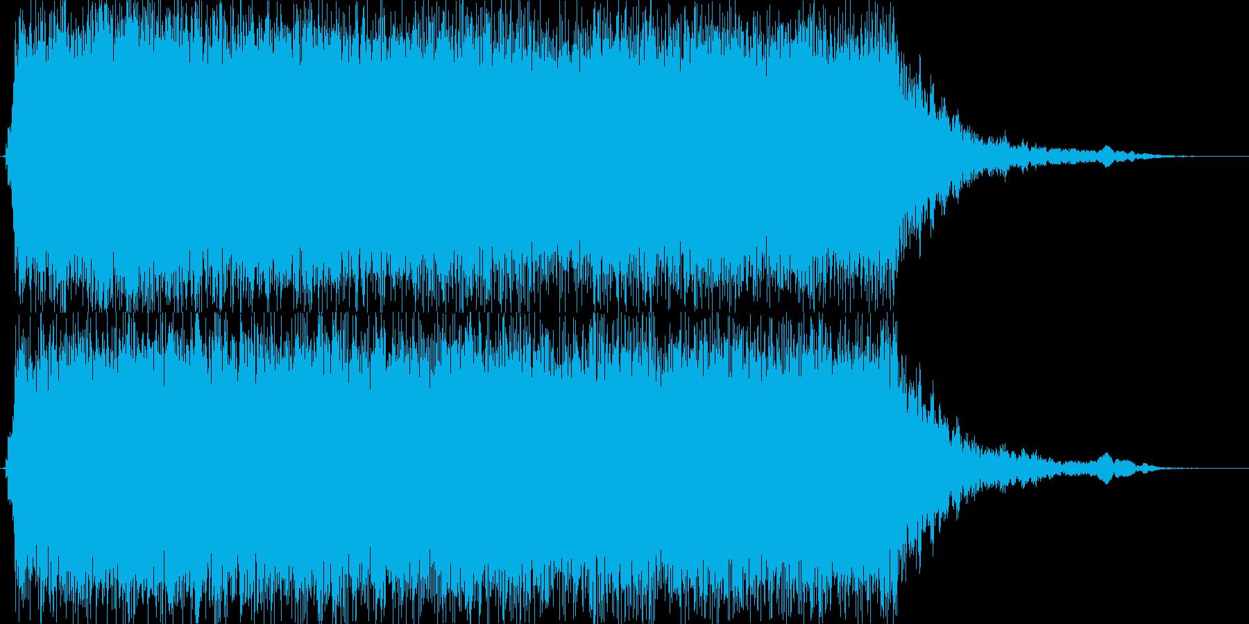 ブイーン(サイクロン掃除機弱モードの音)の再生済みの波形