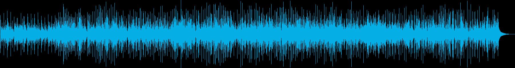 失恋をイメージしたカントリーバラードの再生済みの波形