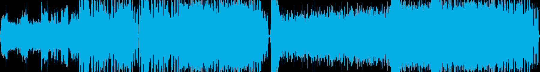 迫力と重圧感があるメタルバトル曲 ループの再生済みの波形