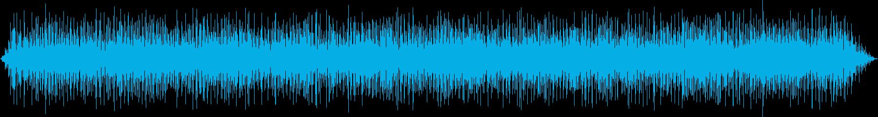宇宙・アンビエント系の不思議なアルペジオの再生済みの波形