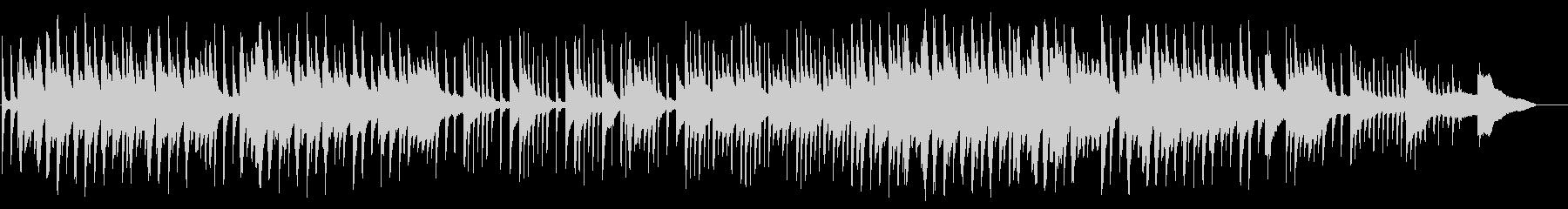 切ないメロディが叙情的なピアノBGMの未再生の波形