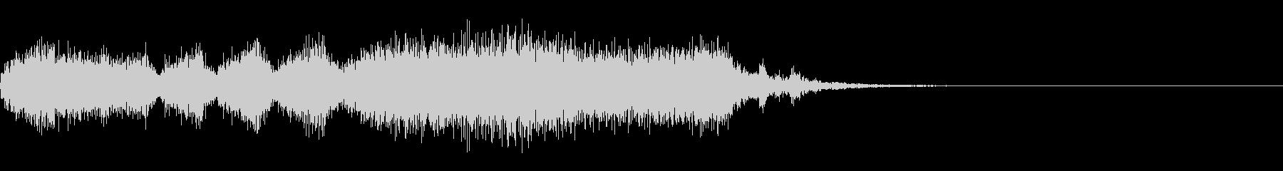 失敗のオーケストラ効果音の未再生の波形