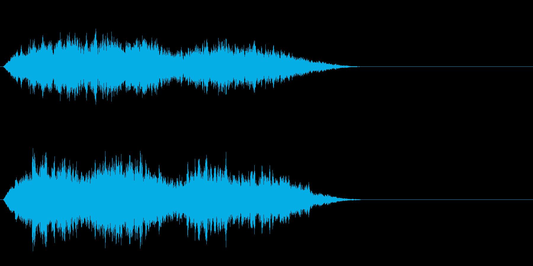 アンビエントジングルの再生済みの波形
