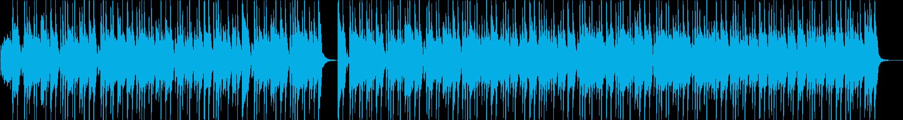 ピアノとギターが楽しいジャズロックの再生済みの波形