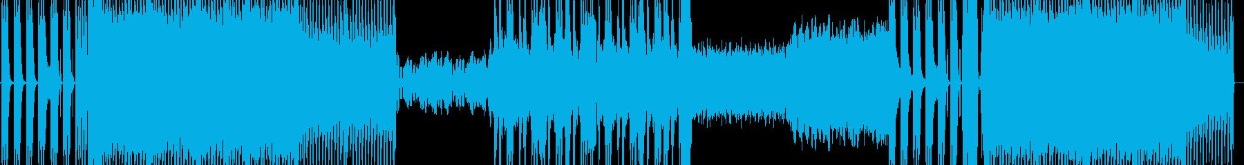 ギターインスト×EDMの再生済みの波形