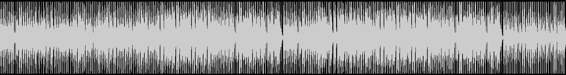 ノリ良い音頭の和風/ゲーム映像/M17pの未再生の波形