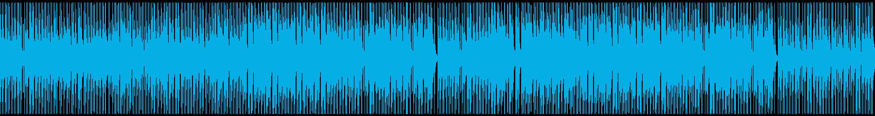ノリ良い音頭の和風/ゲーム映像/M17pの再生済みの波形