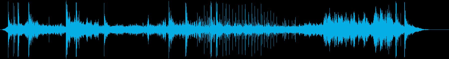 空気圧ドライバーの再生済みの波形
