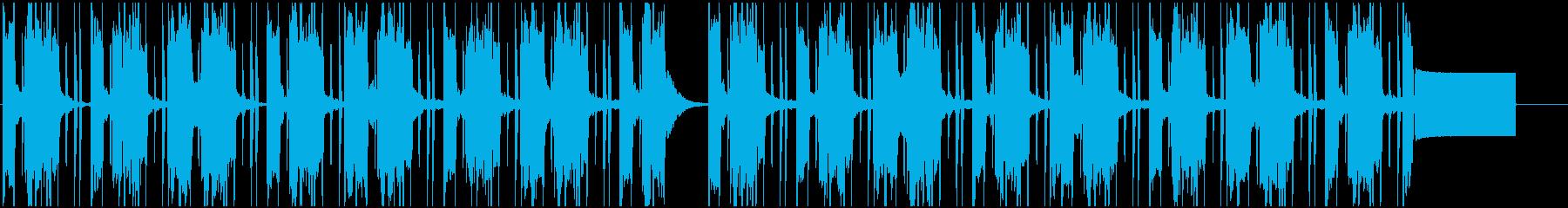【LOFI HIPHOP】深夜集中Gの再生済みの波形