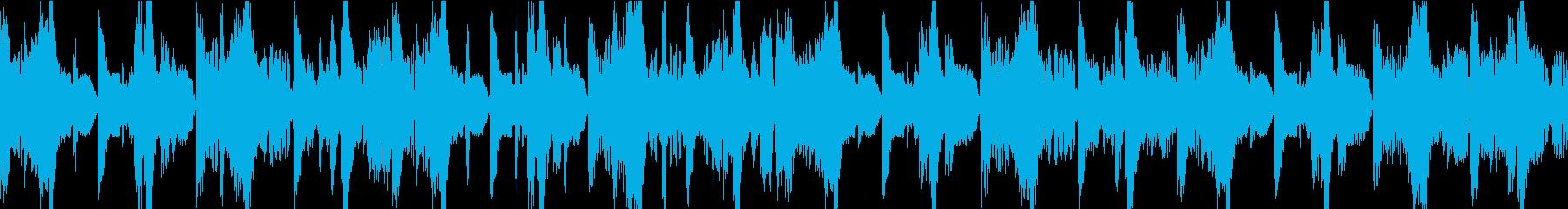 ファンキーなハウス/ダブステップ/...の再生済みの波形