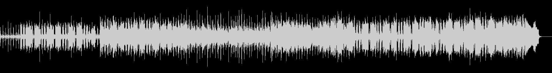 カントリー/ケルト風日常可愛い曲の未再生の波形