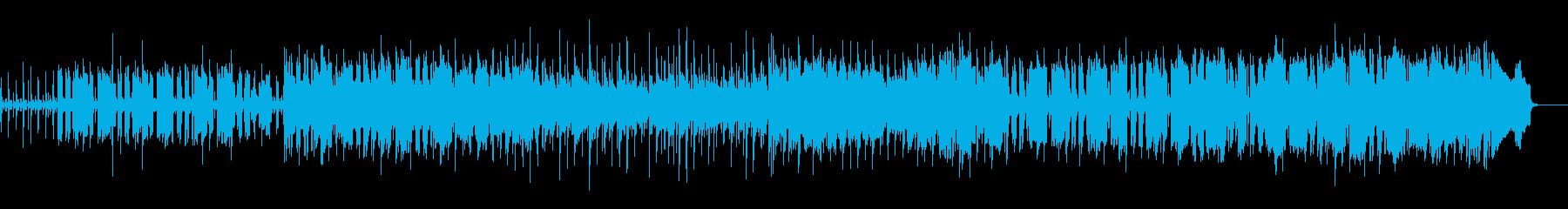 カントリー/ケルト風日常可愛い曲の再生済みの波形