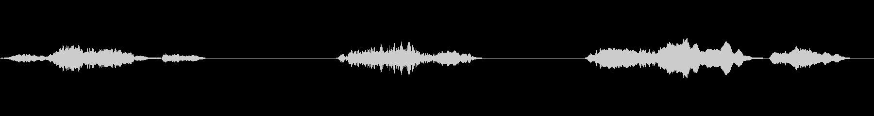 ヒンジきしみ;さびた蝶番の3つの短...の未再生の波形