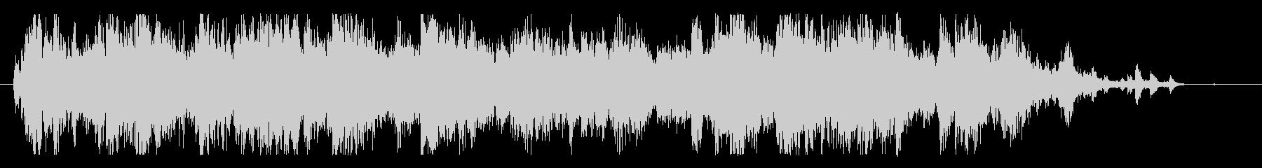 メタル 大音量01の未再生の波形