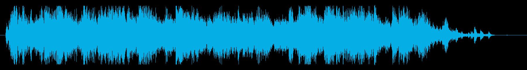 メタル 大音量01の再生済みの波形