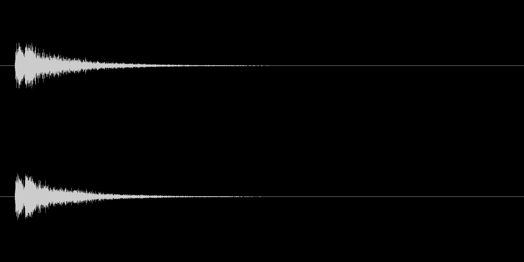 【スポットライト02-1】の未再生の波形