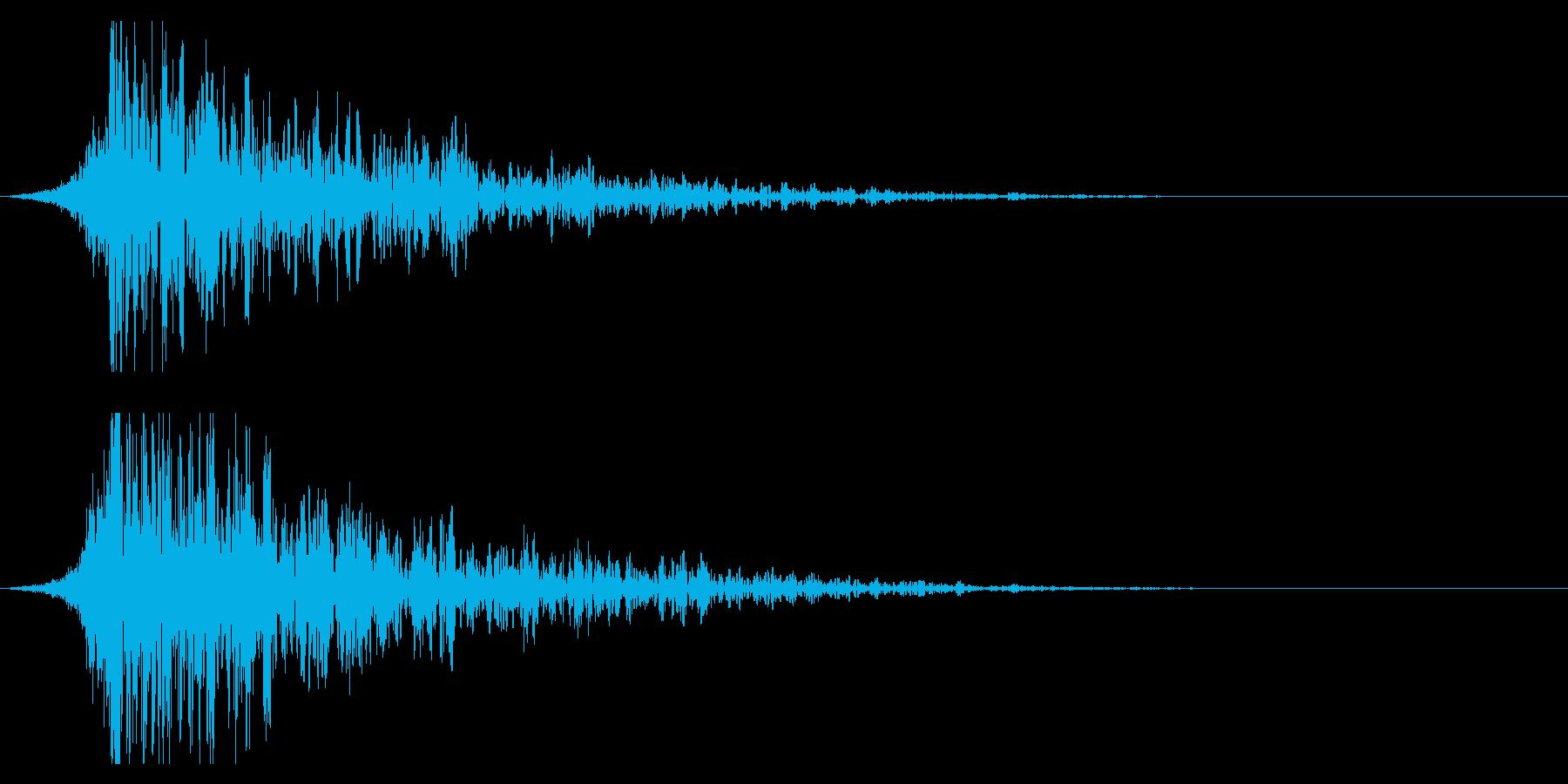 シュードーン-24-2(インパクト音)の再生済みの波形
