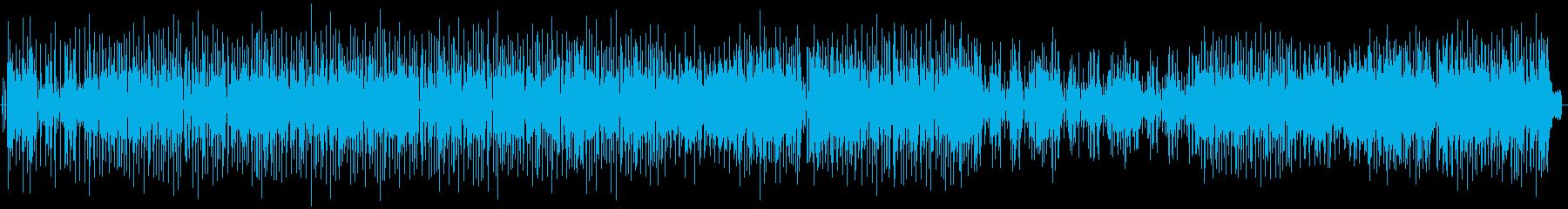 BlueBoy 一部コーラス有りの再生済みの波形