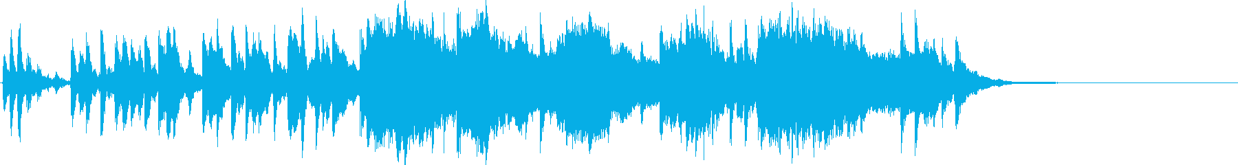 CM向けの尺で製作しました。ピアノソロ…の再生済みの波形