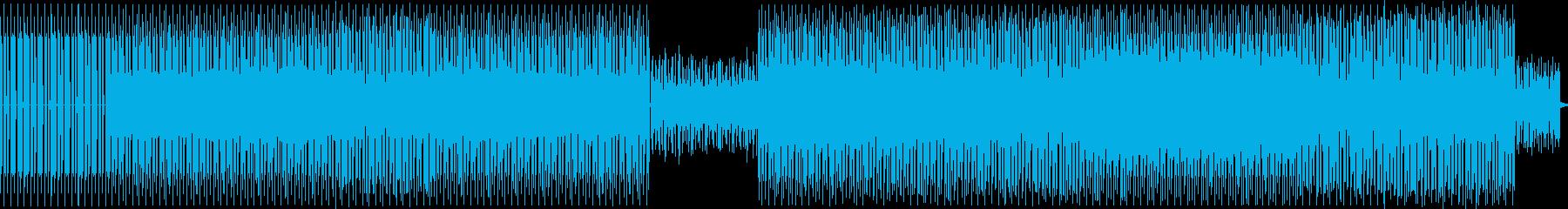 電子。デュオシンセベースとキックド...の再生済みの波形