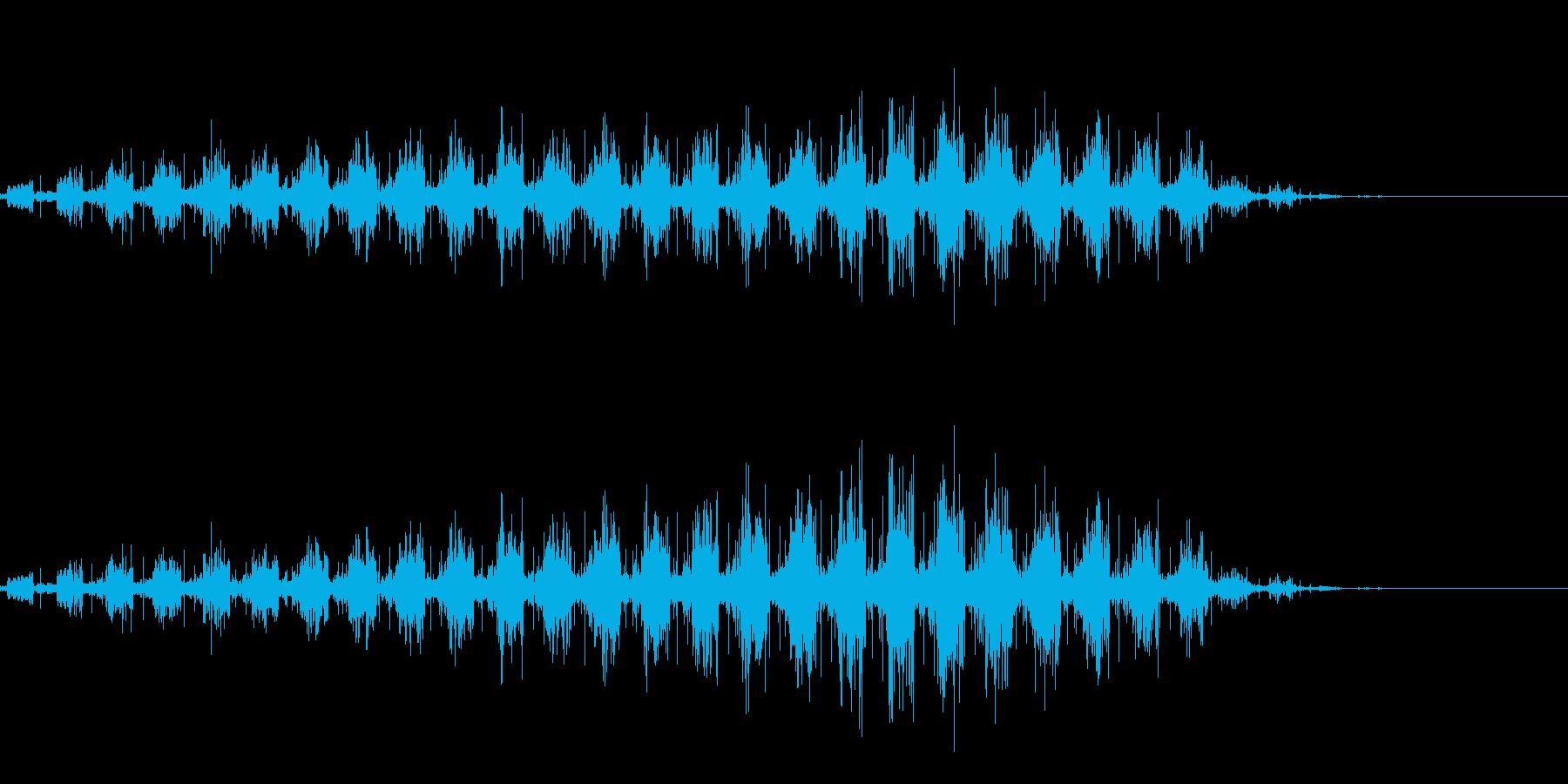 虫の羽音(ブーン/モンスター/飛ぶ)_3の再生済みの波形