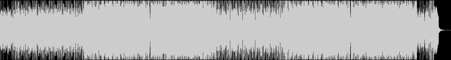 激しい雰囲気のアップビートバンドMMの未再生の波形