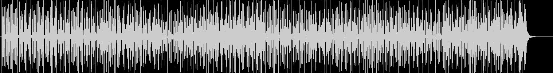 和風◆軽快な三味線のポップス風BGMの未再生の波形