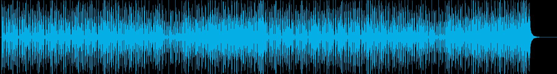 和風◆軽快な三味線のポップス風BGMの再生済みの波形