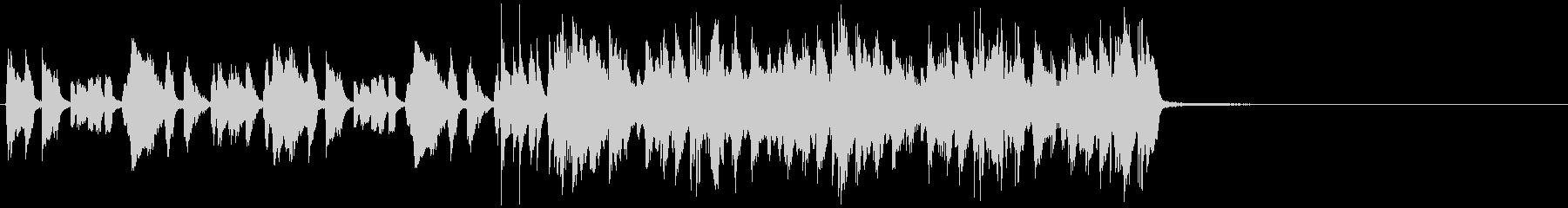 15秒CM向けアコギリフ コミカルな感じの未再生の波形