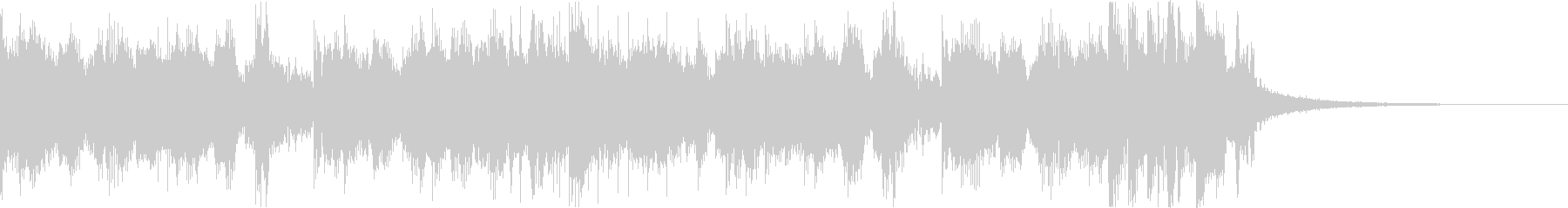スタイリッシュ・アグレッシブエレクトロbの未再生の波形