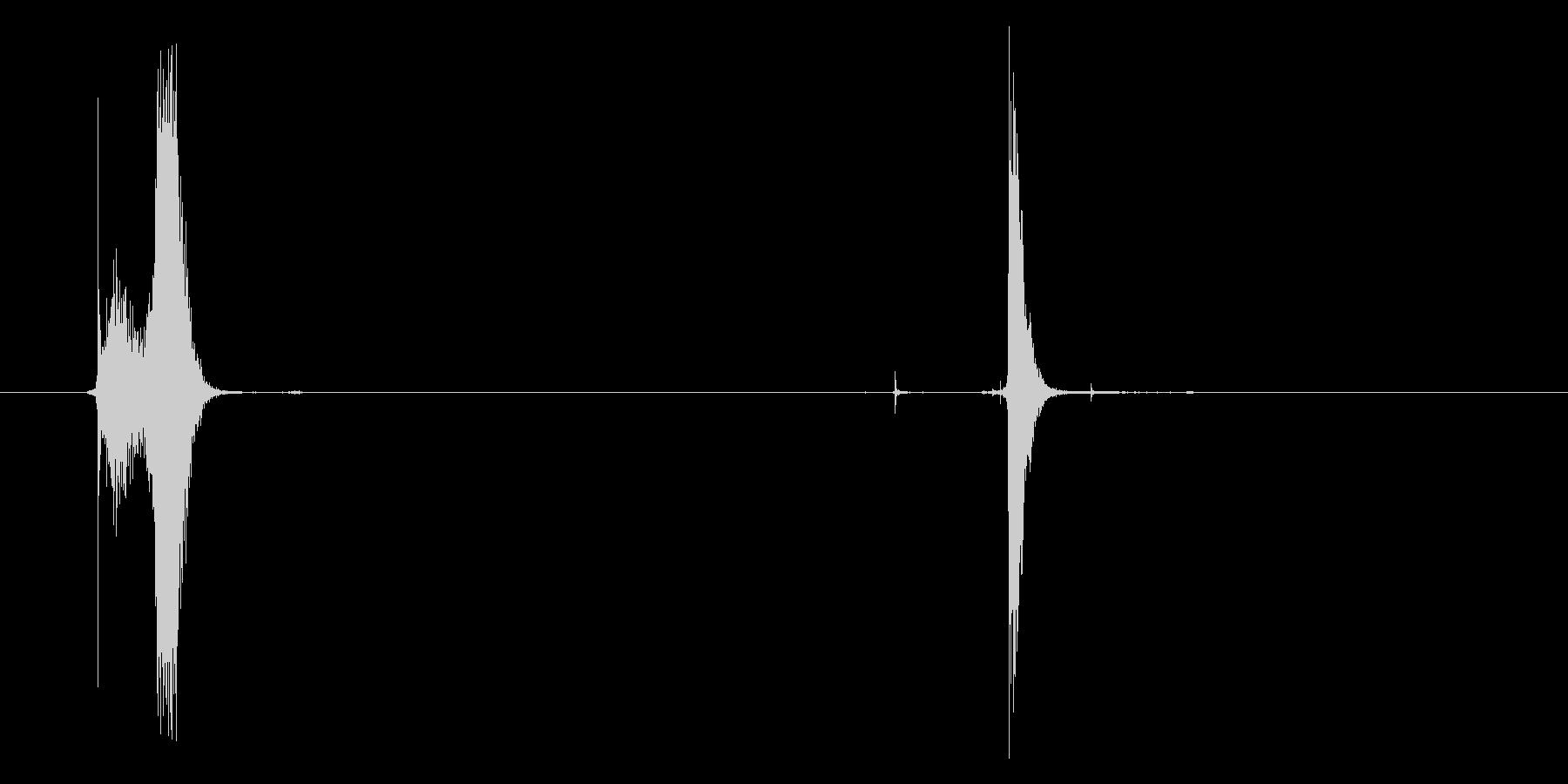 「シュッポン」(オロ○ミンC)の未再生の波形